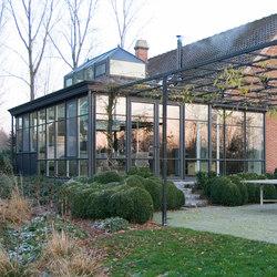Presklené zimné záhrady